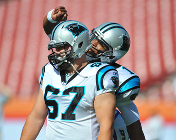 Ryan Kalil was the last Panther hit by the franchise tag.