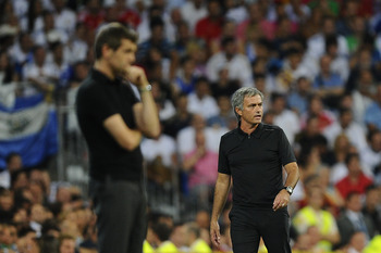 Mourinho had a few epic clashes with Tito Vilanova.