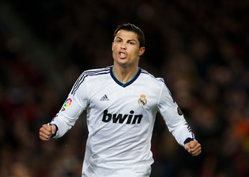 Cristiano Ronaldo has dithered over an extention to his Real Madrid contract.
