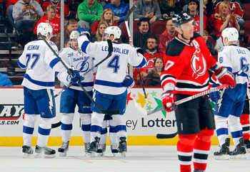 New Jersey has lost six straight after a 5-2 defeat at the hands of the Lightning on Tuesday.