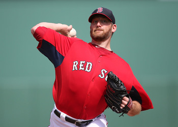 Dempster's been dynamite so far in a Red Sox uniform.