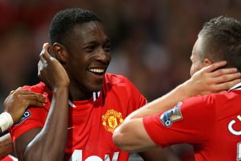 Danny Welbeck and Tom Cleverley