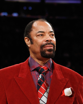 Walt &quot;Clyde&quot; Frazier is still styling.