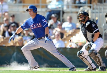 Propsect Mike Olt has struggled at the plate thus far in spring training, hitting just .158.