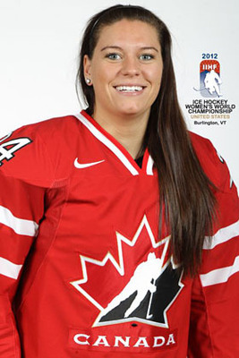 Promotional photo for 2012 IIHF Women's Worlds (Obtained from http://www.ladiesfirsthockeyfoundation.com/team_spooner_natalie.html)