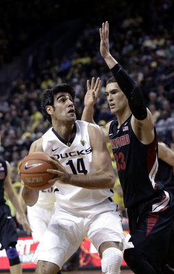 Senior forward Arsalan Kazemi against Stanford. The Associated Press