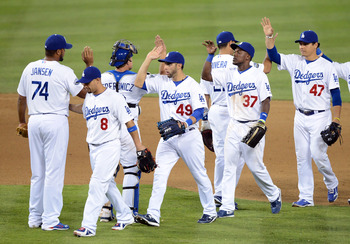 The Dodgers will celebrate a lot more victories in 2013.