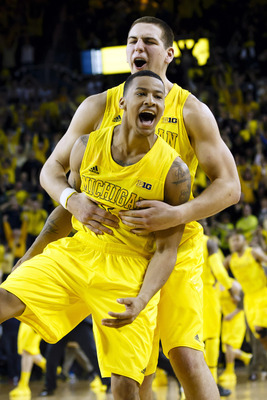 Trey Burke has been the most consistent player on Michigan's roster this season.