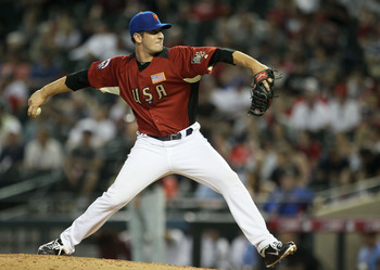 Matt Harvey pitches in the 2011 XM All-Star Futures Game