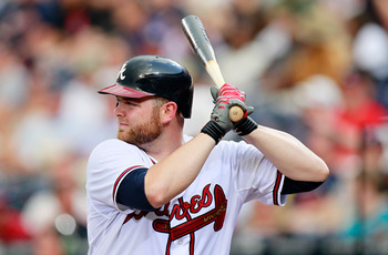 Brian McCann battled injuries throughout the 2012 season.