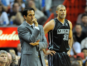 Erik Spoelstra has leaned on the likes of Shane Battier in unconventional ways.
