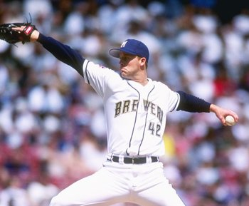 Scott Karl's career WHIP was over 1.5, and he never K'd over 121 hitters, but he never missed a start from 1996-1999 and tossed between 192 and 207 IP each year.