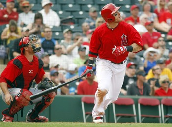 Hamilton will bat clean-up for the Halos.