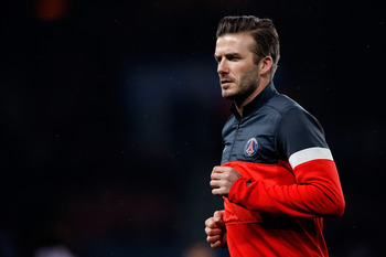 David Beckham is the most recent addition to the PSG army.