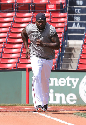 David Ortiz looks like he may not be ready for opening day.