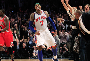 Carmelo Anthony may go down as the greatest Knick ever.