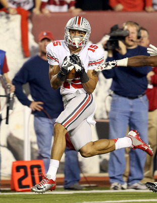 Devin Smith wore No. 15 during his first two seasons at Ohio State, but will wear No. 9 in 2013.