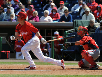 Third base is just one of several positions in which the Phillies are sacrificing defense for offense.