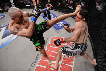 Mike Richman in previous action via Bellator.com