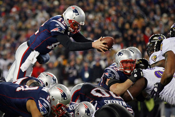 Tom Brady's dive into the end zone was a signature play in a classic game.