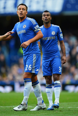 John Terry and Ashley Cole are vital at the back for Chelsea.