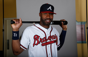 Even though the focus is on the Upton Brothers, Jason Heyward will be the best outfielder in Atlanta.