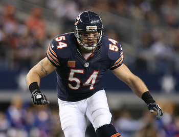 Brian Urlacher hopes to re-up with the Bears or find a soft market.