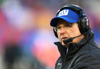 Tom Coughlin will try to win a third Super Bowl in 2013.
