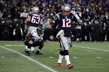Tom Brady: Another disappointing playoff loss in 2012.