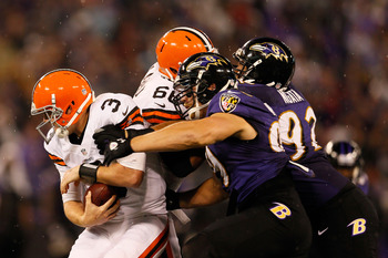 Browns fans won't see Paul Kruger sacking their quarterback any more.