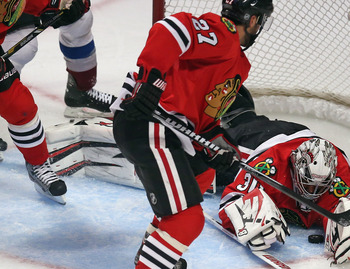 Johnny Oduya has improved the Blackhawks' overall skill.