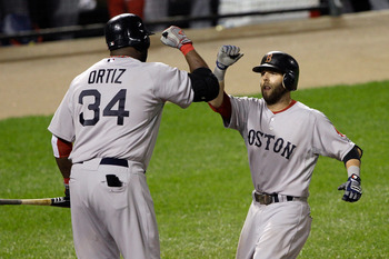 David Ortiz and Dustin Pedroia are the key cogs in the Red Sox lineup.