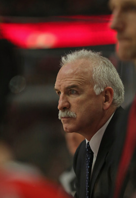 Does Joel Quenneville's group get right back on the horse or slump a little bit?