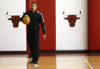 Chicago Bulls' Derrick Rose