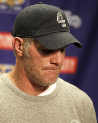 No one can dispute the good Brett Favre did on the field in 2009 but the off-field circus and the woeful 2010 performance were pathetic.