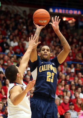 Cal junior guard Allen Crabbe against Arizona on Feb.10.