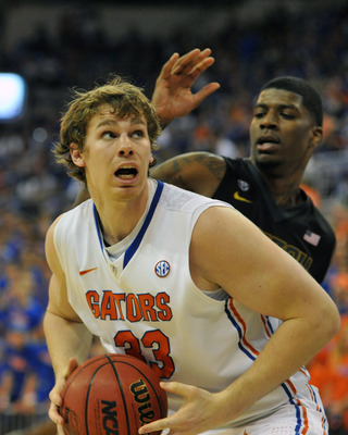 Florida senior forward-center Erik Murphy.