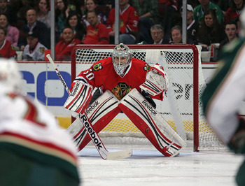 Crawford is among the goaltending leaders in the NHL.