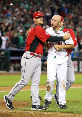 Oh yes, there was a fight. And Aceves most definitely got in on the action.