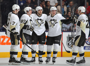 The Pens have a lot to celebrate as they climb up the standings in the East.