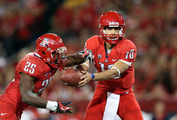 With the graduation of Matt Scott, the Arizona offense will rely heavily on Ka'Deem Carey.