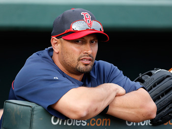 Victorino hasn't done much on the field for the Red Sox this spring.