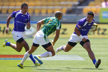 Samoa is one of two teams that might still catch New Zealand.