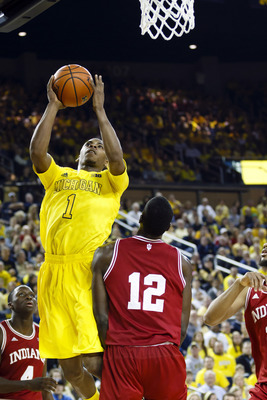 Glenn Robinson III is playing much more aggressive than he has all season long.