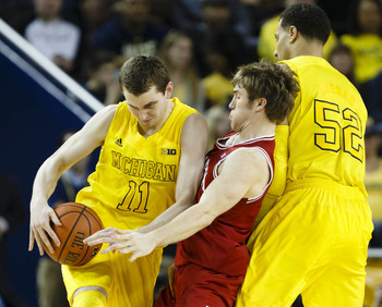 Michigan might have another crack at Indiana in the semifinals of the league tournament.