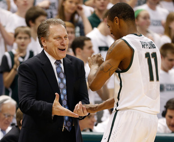 Keith Appling finished strong with 37 combined points in Michigan State's final two regular-season games.