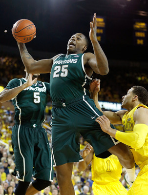 Derrick Nix's energy helped Michigan State during the second half of the Big Ten gauntlet.