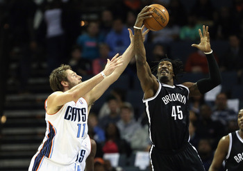 Gerald Wallace is shooting 38.7 percent since the All-Star break.
