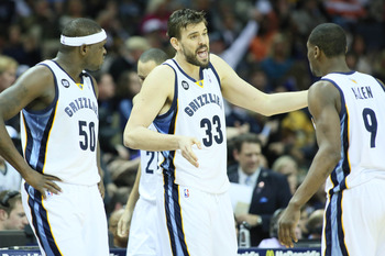 The Grizzlies have one of the most stifling defenses in the league.