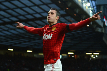 Dutchman Robin van Persie could prove to be the key reason behind United's title win this season...
